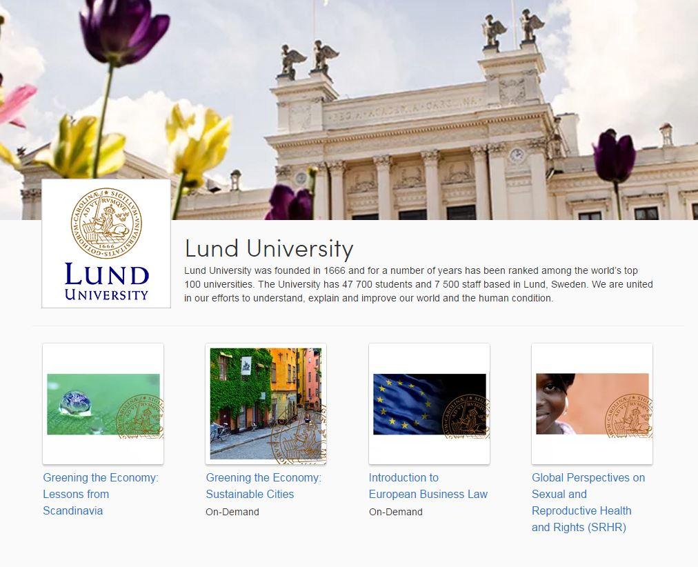 lund university moocs